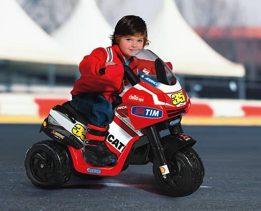 Детский трицыкл Ducati Desmosedici, дитячий мотоцикл, детский мотоцикл Ducati Desmosedici, фото 2