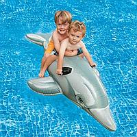 Надувной матрас Дельфин Modarina  200 см Серый PF3301