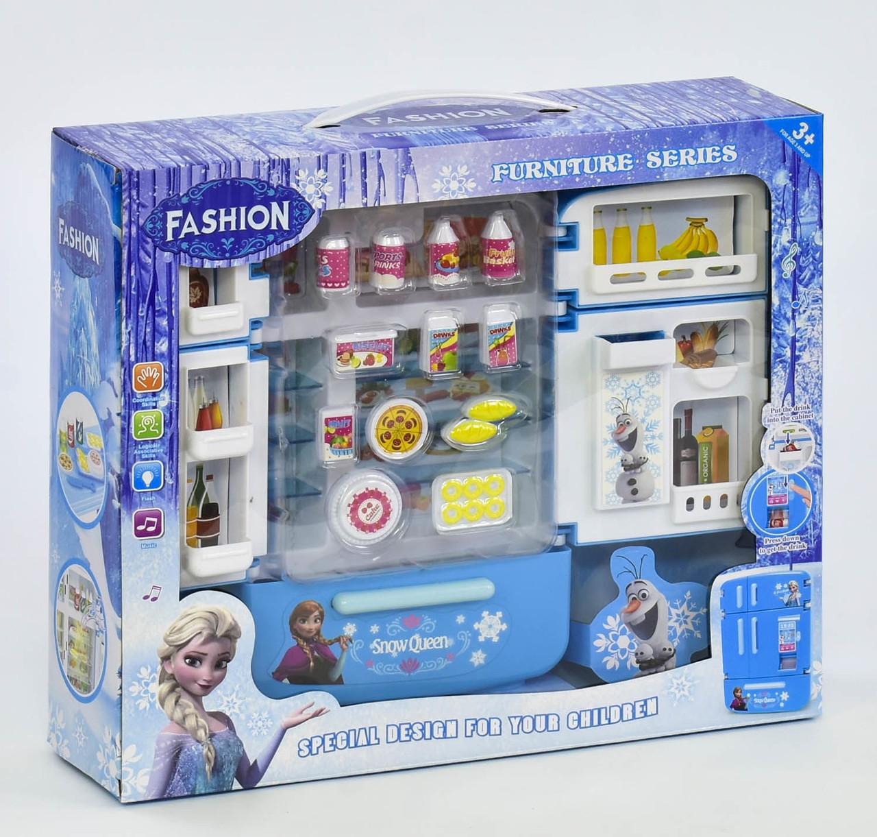 Холодильник SY 2030-140 Frozen свет, звук