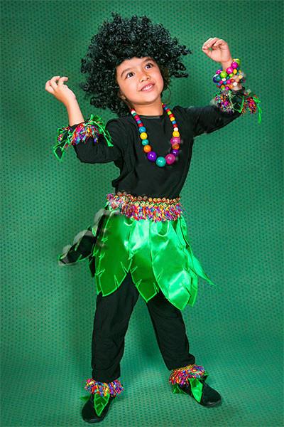Карнавальный костюм  Папуас, Чунга-Чанга, Туземец, Дикарь с париком