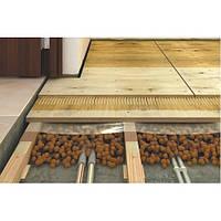 Устройство деревянного пола на лагах