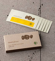 Патчи для очищения кожи носа с вулканическим пеплом INNISFREE Jeju Volcanic Nose Pack упаковка 6 шт