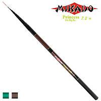 """Удочка безколечная """"Princess Mikado"""" 7.2 10-30г 8к"""
