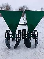 Картофелесажалка минитракторная двухрядная цепная Шип 120 л (3-х точ. сцеп.), фото 1