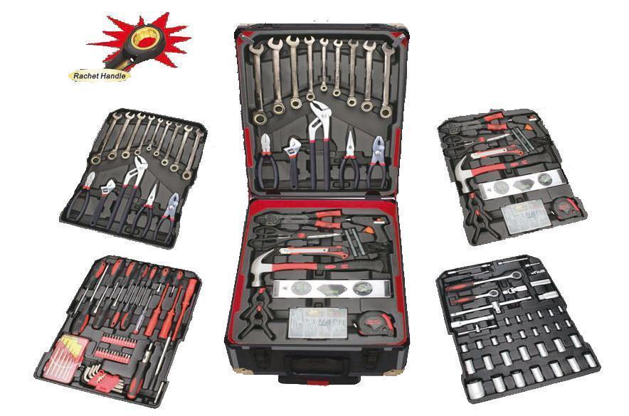 Набор инструментов ручной в чемодане Smart Kraft SK-009 (Swiss Kraft) 259 шт для автомобиля гаража