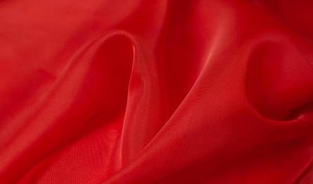 Шторный шифон Красный (вуаль), фото 2