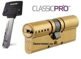 Цилиндр Mul-T-Lock ClassicPro 62 мм.(31х31) латунь