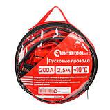 Пусковые провода 200А, 2.5м, до -40°C, чехол INTERTOOL AT-3040, фото 2