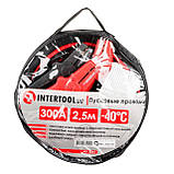 Пусковые провода 300А, 2.5м, до -40°C, чехол INTERTOOL AT-3041, фото 4