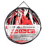 Пусковые провода 400А, 3.5м, до -40°C, чехол INTERTOOL AT-3044, фото 4