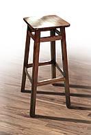 Высокий барный стул - табурет квадратный