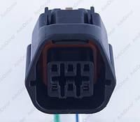 Разъем электрический 6-и контактный (25-23) б/у
