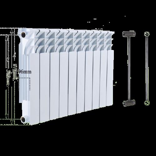 Радиатор биметаллический Bi-Camino 570x96x80 - United Trading Group в Житомире