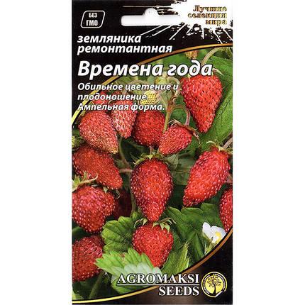 """Насіння суниці """"Пори року"""" F1 (0,01 г) від Agromaksi seeds, фото 2"""