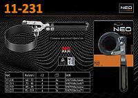 Съемник масляного фильтра 73 - 85мм., NEO 11-231, фото 1