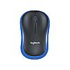 Беспроводная мышь Logitech M185 (№ 910-002239) Blue