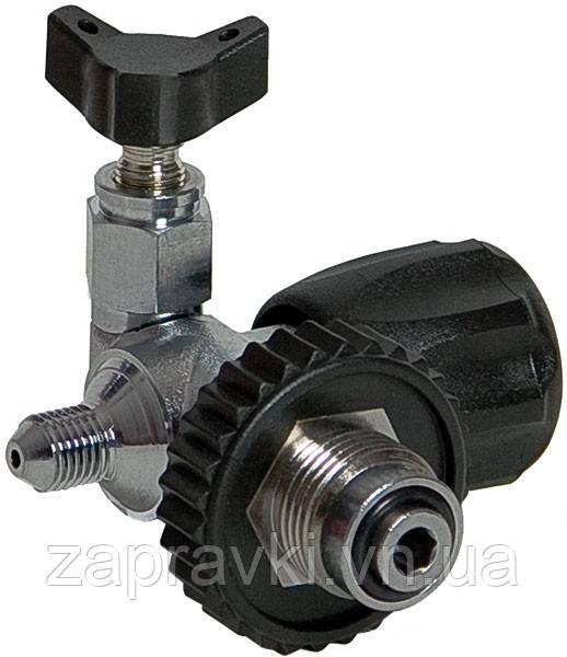 Заправний штуцер з клапаном скидання тиску, DIN 230bar Coltri Sub