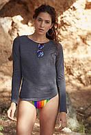Женская футболка с длинным рукавом 61-404-0