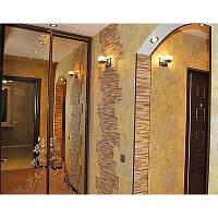 Обшивка радиусных стен гипсокартоном с установкой металлокаркаса