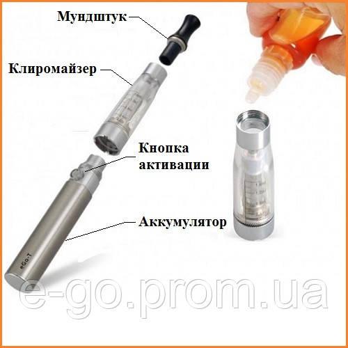 Инструкция электронная сигарета ego-ce4.
