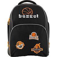 Рюкзак школьный ортопедический Kite Education 705-2 Basketball, для мальчиков, черный (K19-705S-2)