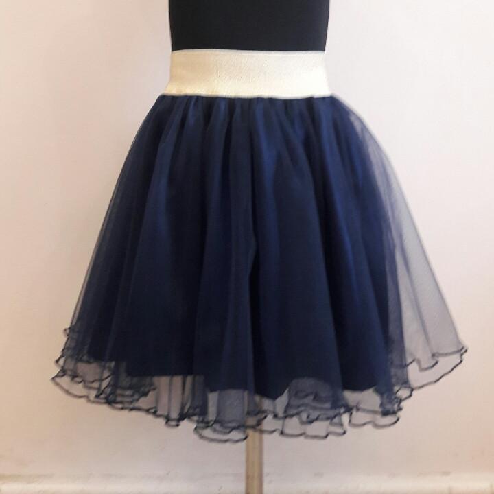 Пышная фатиновая юбка для девочки 8-12 лет.