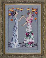 Схема для вышивки The Garden Party Mirabilia Designs