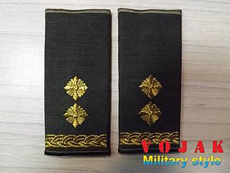 Погони-муфти ЗСУ Підполковник повсякдені (4329)