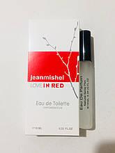 Женский мини парфюм оптом jeanmishel Love In Red 10ml