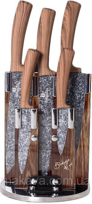 Набор ножей на подставке Berlinger Haus Forest Line 6 предметов