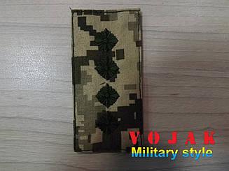Погон ЗСУ Капітан (мк.NDU) 10*5см (3874)