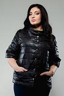 Куртка женская большие размеры , цвета  беж, молоко !!!!. Плащевка + синтепон 100 ЛЯ №1525