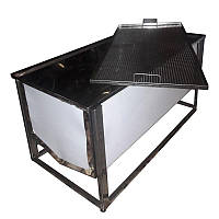 Стол для распечатки сот 1 м (с плоской корзиной )