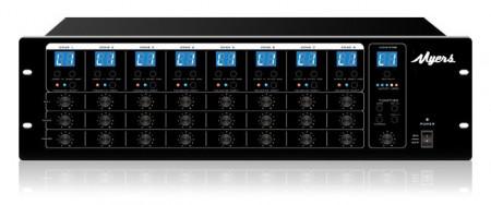 Матричный коммутатор аудио сигналов 8x8 Myers M-8000