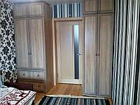 Распашные шкафы с антресолями по индивидуальному проекту