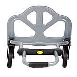 Тележка ручная складная до 60 кг, 385*375*960, колеса 130 мм, (стальная) INTERTOOL LT-9006, фото 8