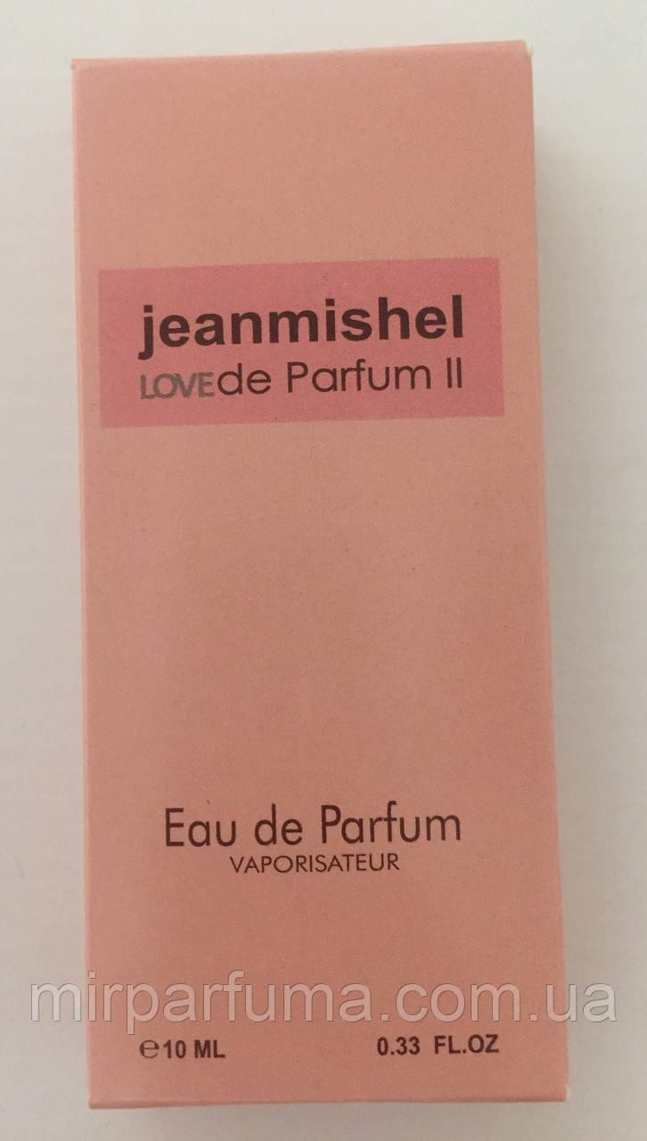 Парфюм женский 10ml jeanmishel Love Parfume II Pink оптом
