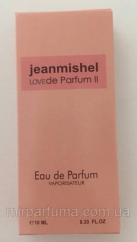 Парфюм женский 10ml jeanmishel Love Parfume II Pink оптом, фото 2