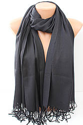 Турецький чорний шарф 501-1