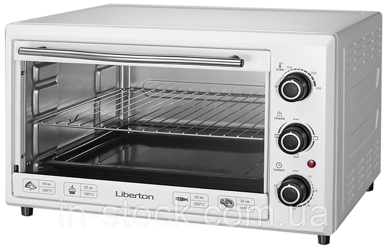 Електропіч LIBERTON LEO-351 White