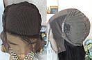 💎Натуральный парик 66 см., на сетке с имитацией кожи головы 💎, фото 7