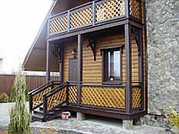 Дом деревянный (коттедж) №2