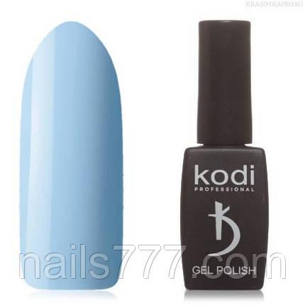 Гель лак Kodi  №130B,бледно-голубой, фото 2