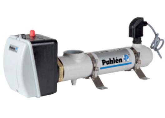 Проточний електронагрівач в корпусі з нержавіючої сталі 12кВт, 380В, Pahlen