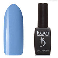 Гель лак Kodi  №140B, сине-сиреневый, с голубыми микроблестками