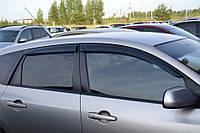 Дефлекторы окон (ветровики) Mazda 3 I Hb 2003-2008 (Мазда 3) Cobra Tuning