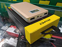 Портативная батарея Повербанк AWEI P83K Power Bank 10000mAh Li-Polimer Gold