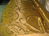 Ткань партьерная Merlot золото