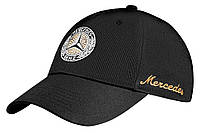 Жіноча бейсболка Mercedes-Benz Women's cap with Swarovski, Classic, Black (B66041517)