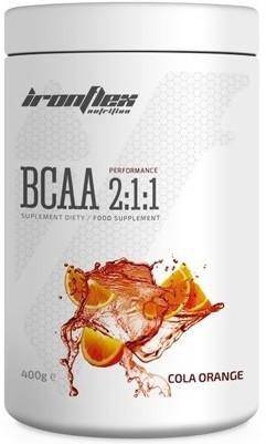 Аминокислоты IronFlex - BCAA 2:1:1 (400 грамм) cola-orange/кола-апельсин